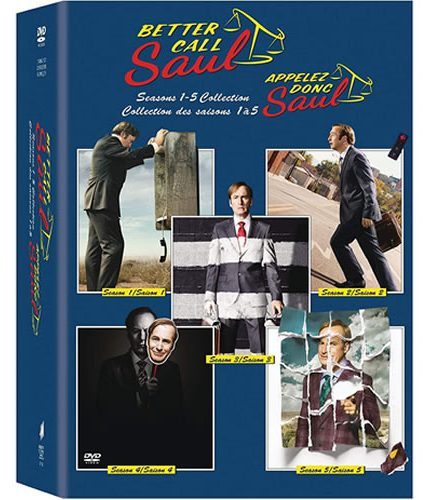 Better Call Saul Complete Series DVD ON SALE (15-Disc 2021)