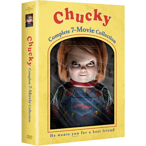 Chucky Complete 7-Movie Collection DVD ON SALE
