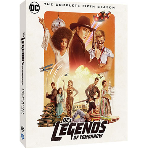 DC's Legends of Tomorrow Season 5 DVD ON SALE (3-Disc 2021)