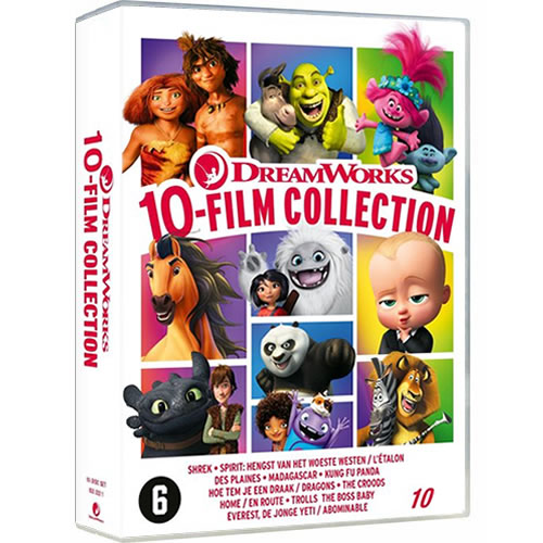 DreamWorks 10 Movie Collection DVD ON SALE