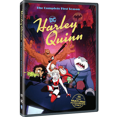 Harley Quinn Season 1 DVD ON SALE (2-Disc 2021)