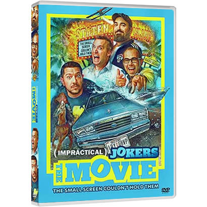 Impractical Jokers: The Movie DVD ON SALE