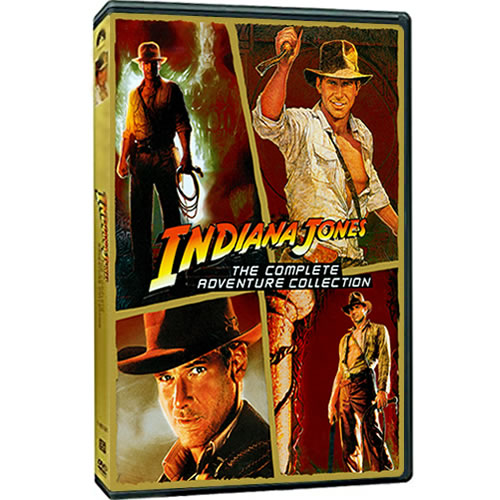 Indiana Jones The Complete Adventure Collection DVD ON SALE