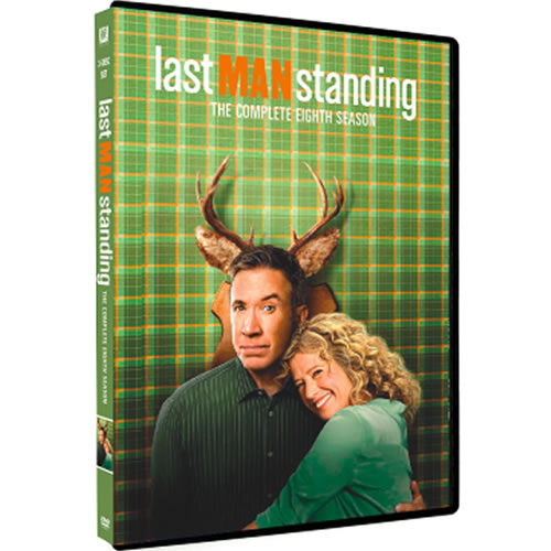 Last Man Standing Season 8 DVD ON SALE (3-Disc 2021)