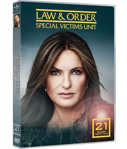 Law & Order: Special Victims Unit Season 21 DVD ON SALE (4-Disc 2021)