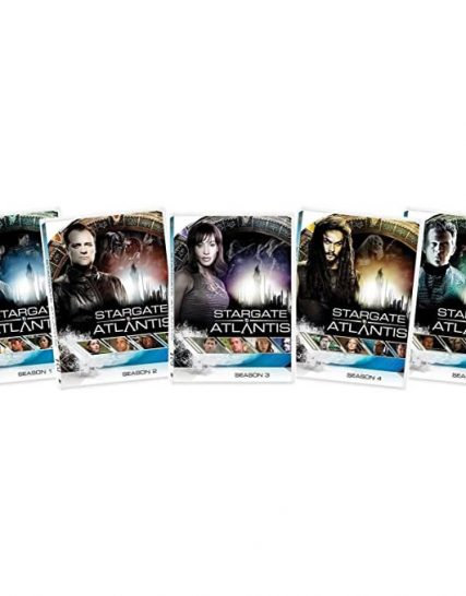 Stargate Atlantis Complete Series 1-5 DVD ON SALE (25-Disc 2021)