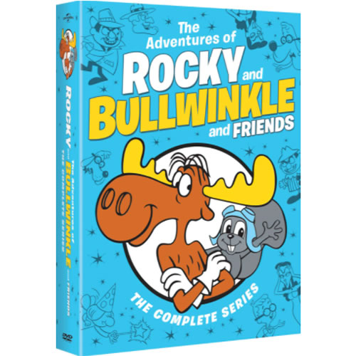 The Adventures of Rocky and Bullwinkle and Friends Complete Series DVD ON SALE (14-Disc 2021)