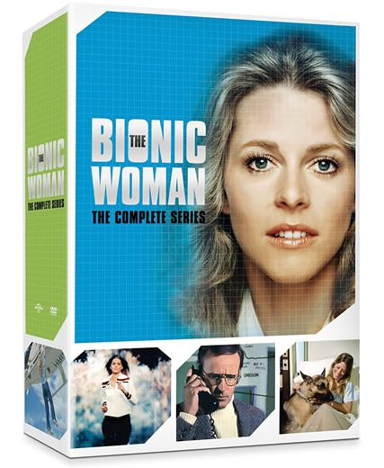 The Bionic Woman Complete Series DVD ON SALE (14-Disc 2021)