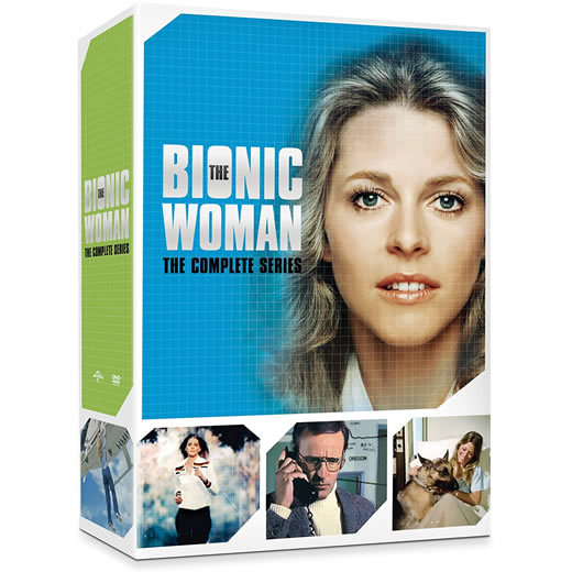 The Bionic Woman Complete Series DVD ON SALE in NZ
