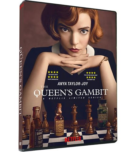 The Queen's Gambit DVD ON SALE
