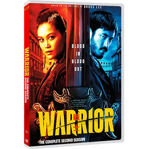 Warrior Season 2 DVD ON SALE (3-Disc 2021)