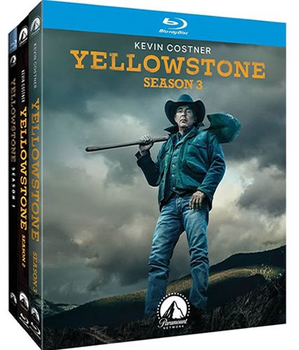 Yellowstone Complete Season 1-3 Blu-ray Region Free ON SALE (9-Disc)