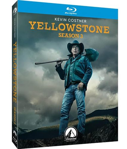 Yellowstone Season 3 Blu-ray Region Free ON SALE (3-Disc)