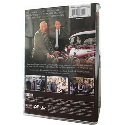 Inspector Morse Complete Series 1-7 DVD ON SALE (17-Disc 2021)