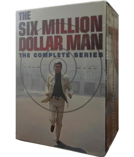 The Six Million Dollar Man Complete Series DVD ON SALE (33-Disc 2021)