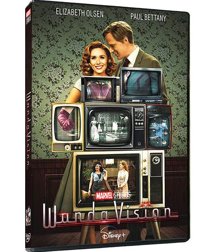 WandaVision Season 1 DVD ON SALE (3-Disc 2021)