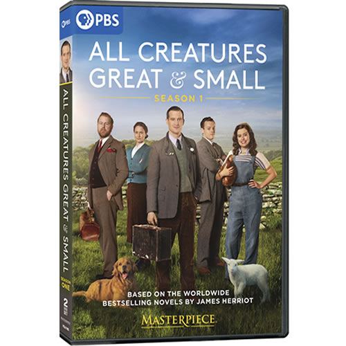 Buy All Creatures Great and Small Season 1 DVD in NZ