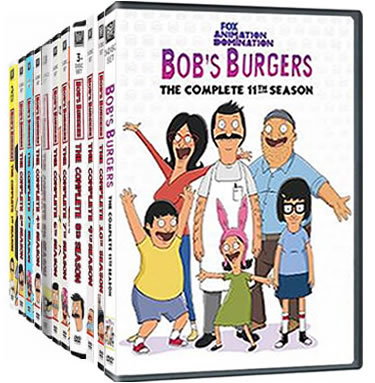Bob's Burgers Complete Series 1-11 DVD ON SALE in NZ
