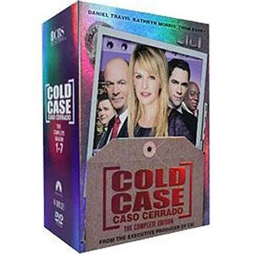Cold Case Complete Series DVD ON SALE in NZ