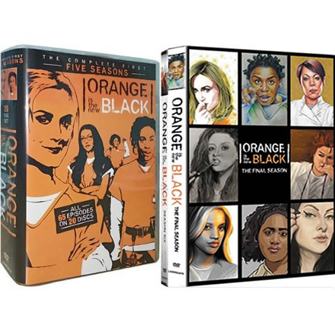 Orange Is The New Black Complete Series 1-7 DVD ON SALE in NZ
