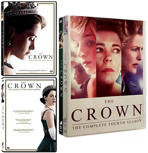 The Crown Complete Series 1-4 DVD ON SALE in NZ