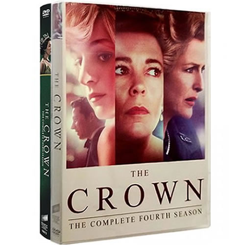 The Crown Complete Series 3-4 DVD ON SALE in NZ