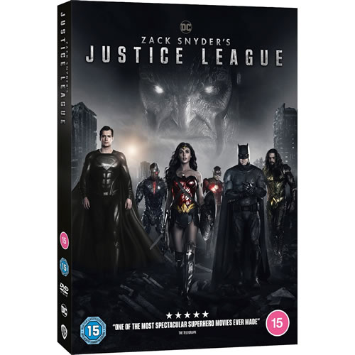 Zack Snyder's Justice League DVD ON SALE