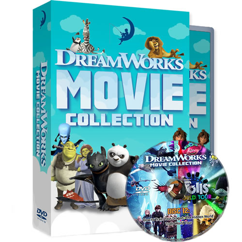 Buy DreamWorks 24 Movie Collection DVD Box Set in NZ
