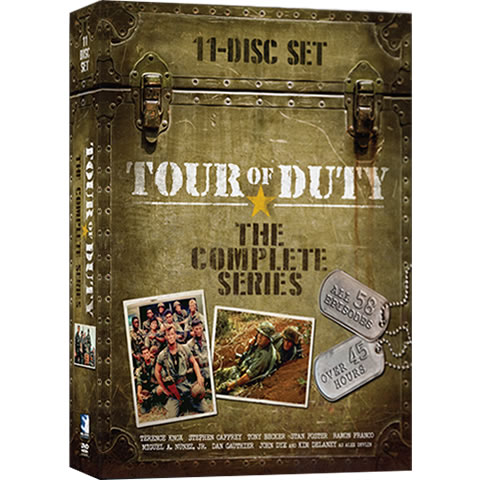 Tour of Duty Complete Series DVD ON SALE in NZ