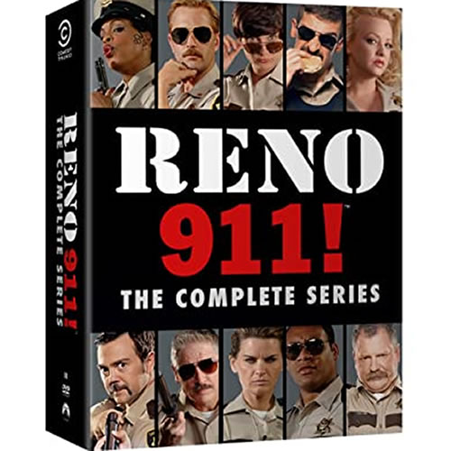 Reno 911 Complete Series DVD ON SALE in NZ