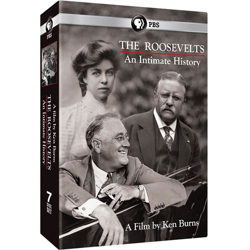 Buy The Roosevelts: An Intimate History DVD in NZ