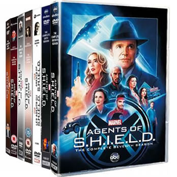 Agents of SHIELD Complete Series 1-7 DVD ON SALE in NZ