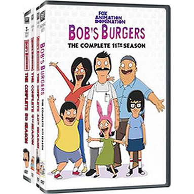 Bob's Burgers Complete Series 8-11 DVD ON SALE in NZ