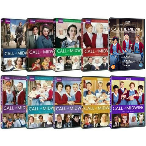 Call The Midwife Complete Series 1-10 DVD ON SALE in NZ