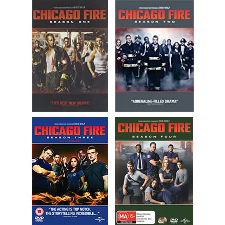 Chicago Fire Complete Series 1-4 DVD ON SALE in NZ