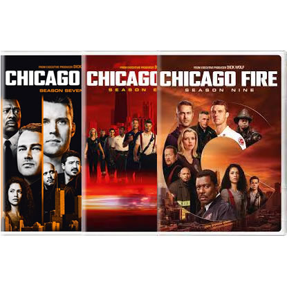 Chicago Fire Complete Series 7-9 DVD ON SALE in NZ