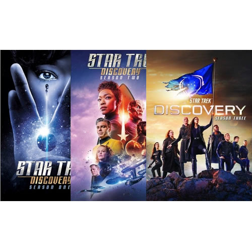 Star Trek: Discovery Complete Series 1-3 DVD ON SALE in NZ