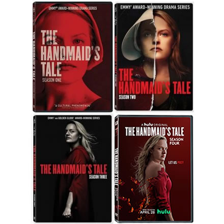 The Handmaid's Tale Complete Series 1-4 DVD ON SALE in NZ