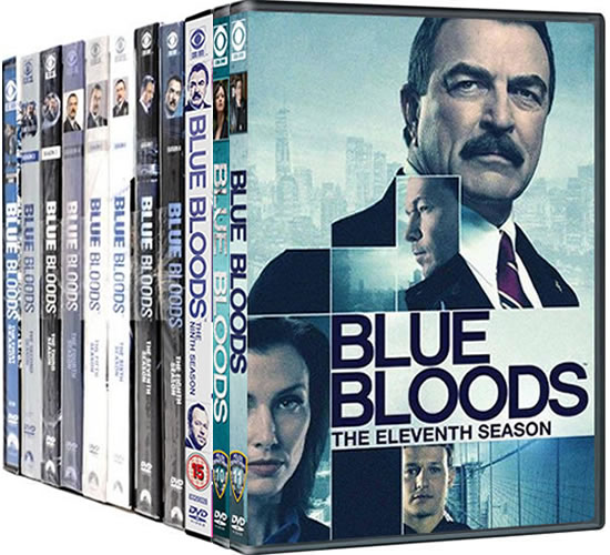 Blue Bloods Complete Series 1-11 DVD ON SALE in NZ