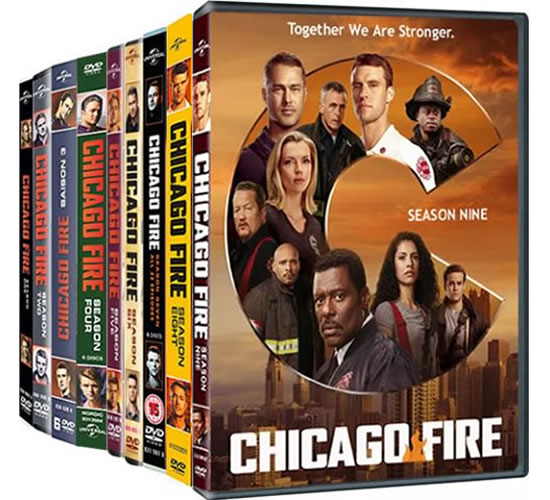 Chicago Fire Complete Series 1-9 DVD ON SALE in NZ