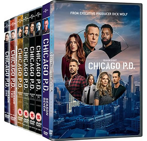 Chicago PD Complete Series 1-8 DVD ON SALE in NZ