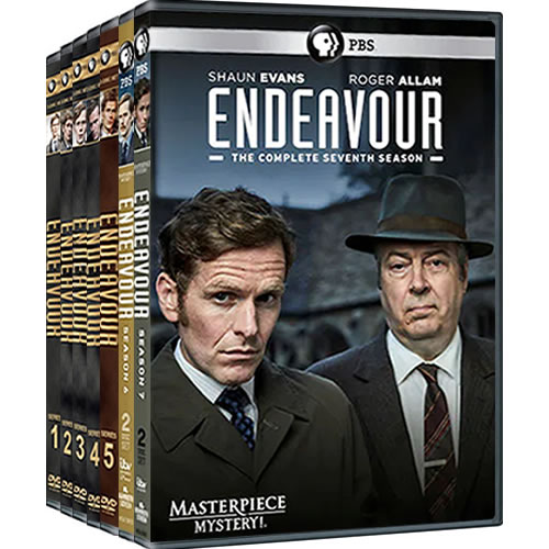 Endeavour Complete Series 1-7 DVD ON SALE in NZ