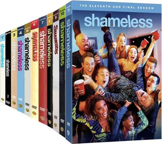 Shameless Complete Series 1-11 DVD ON SALE in NZ