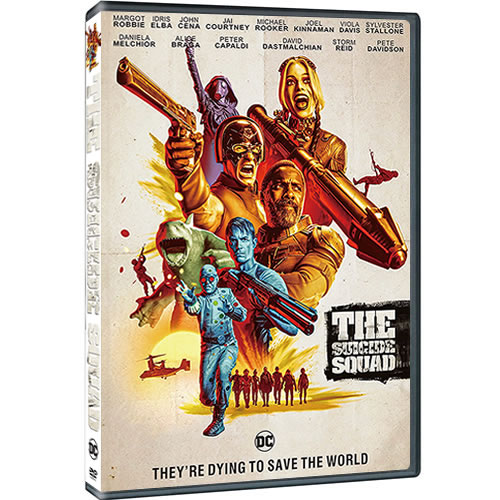 Buy The Suicide Squad 2021 DVD in NZ
