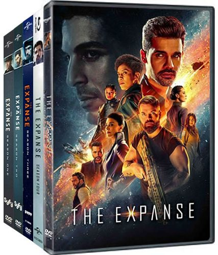 The Expanse Complete Series 1-5 DVD ON SALE in NZ