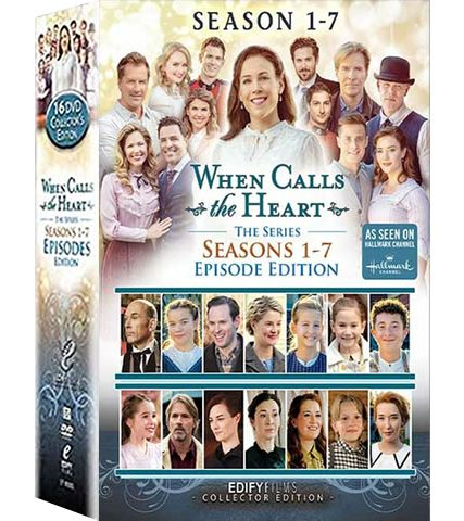 When Calls The Heart Complete Series 1-7 DVD ON SALE in NZ