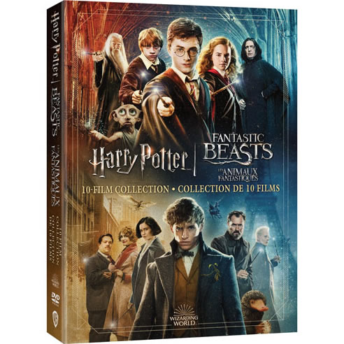 Buy Wizarding World 10 Film Collection - Harry Potter & Fantastic Beasts DVD in NZ